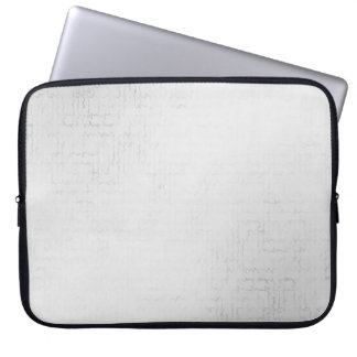 Cascade (White)™ Neoprene Laptop Sleeve
