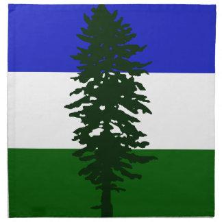 Cascadia Flag Napkin