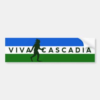 Cascadia Sasquatch Bumper Sticker