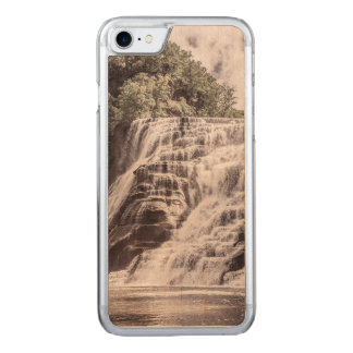 Cascading falls carved iPhone 7 case