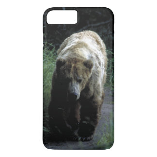 """Case Barely There for iPhone 7+ """"Grizzly bear"""""""