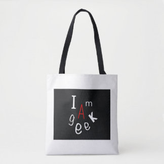 Case, book case, trendy case, portfolio, I am a Tote Bag