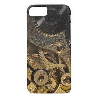 Case: Brass Hearted. Watch Mechanism iPhone 7 Case