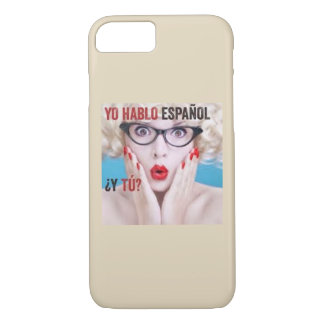 Case for cell phone - yo hablo español