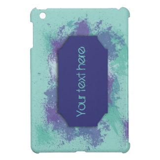 Case for ipad mini with splash design.