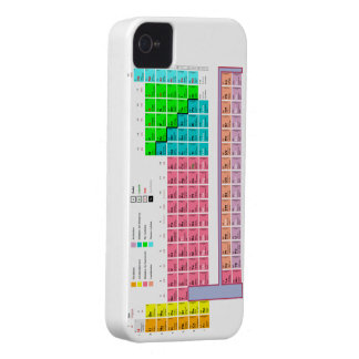 "CASE iPhone 4/4S ""PERIODIC TABLE """