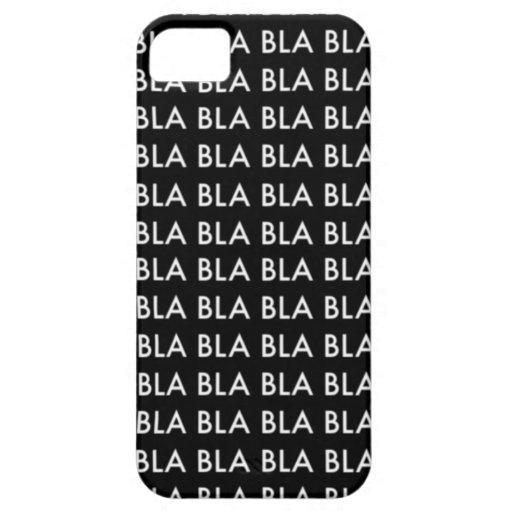 "CASE iPhone 5 ""Blah blah blah BLA "" iPhone 5 Case"