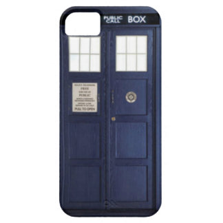 "CASE iPhone 5 ""POLICE BOX """