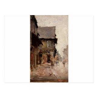Case la vitre by Nicolae Grigorescu Postcard