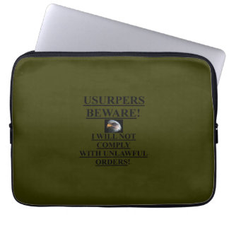 Case /Laptop Sleeve OD Green (13 in) /w  Eagle /US Laptop Computer Sleeves