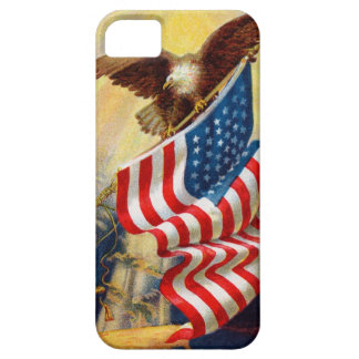 Case-Mate Barely There iphone 5 Case w/ Eagle/Flag