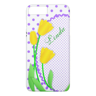 Case-Mate Barely There Plus iPhone 7  Yellow Tulip iPhone 7 Plus Case