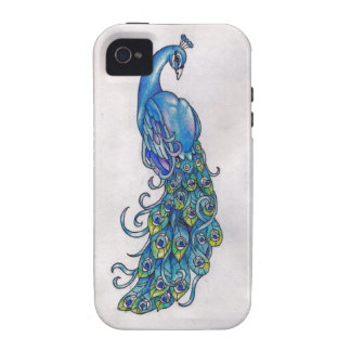 Case-Mate iPhone 4/4S Vibe Universal Case-Peacock iPhone 4 Case