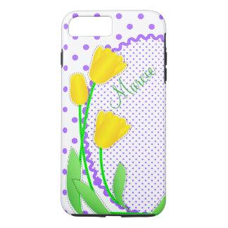 Case-Mate Tough Plus iPhone 7 Case  Yellow Tulips