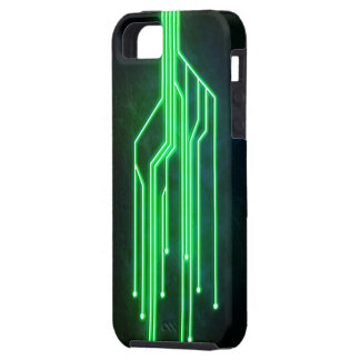 Case-Mate Vibe iPhone 5/5s: Green Circuit