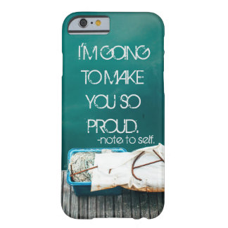 Case, Note to Self Barely There iPhone 6 Case