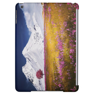 Case Savvy Glossy iPad Air Case Alps Landscape