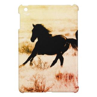 Case Savvy iPad Mini Glossy Finish Case W/ HORSE iPad Mini Case