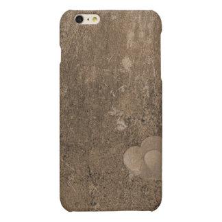 Case Savvy iPhone 6 Plus Matte Finish Case-Brown