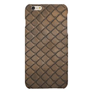 Case Savvy iPhone 6 Plus Matte Finish Case - Brown
