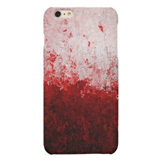 Case Savvy iPhone 6 Plus Matte Finish Case - Red Matte iPhone 6 Plus Case