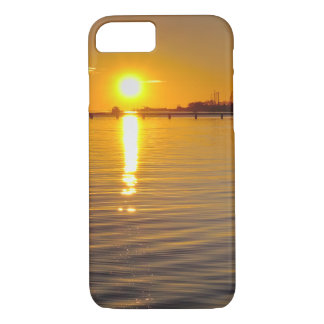 Case: Sunset and old watermill iPhone 7 Case