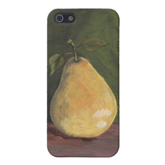 Case with tasty pear cover for iPhone 5/5S