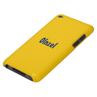 Case yellow iPod touch covers