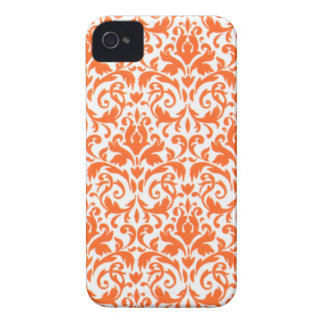CaseMate iPhone 4 orange floral Case-Mate iPhone 4 Case