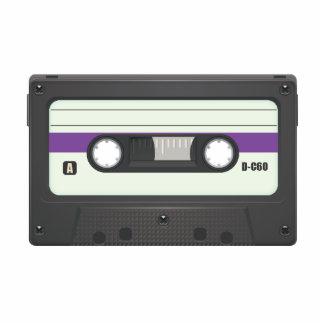 Casette Tape - Purple Photo Cut Out