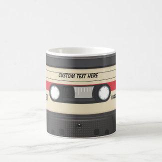 Casette Tape - Sunset Red Basic White Mug