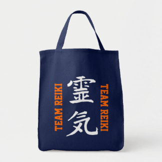 "Casey Coaching ""Team Reiki"" Grocery Tote"
