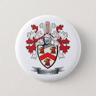 Casey Coat of Arms 2 Inch Round Button