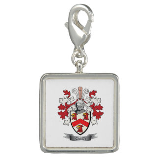 Casey Coat of Arms Charm