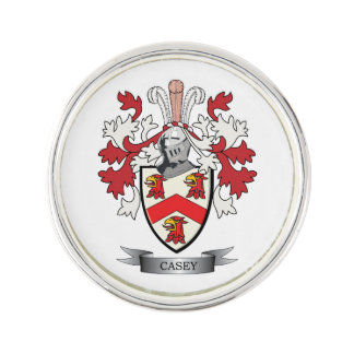 Casey Coat of Arms Lapel Pin