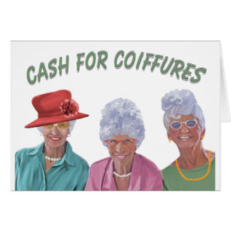 Cash For Coiffures Card