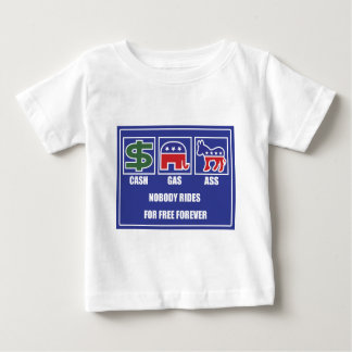 CASH GAS ASS Light Baby T-Shirt