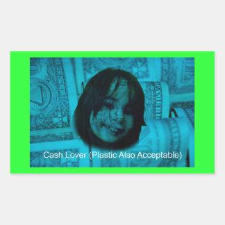 Cash Lover (Plastic Also Acceptable) Money Face