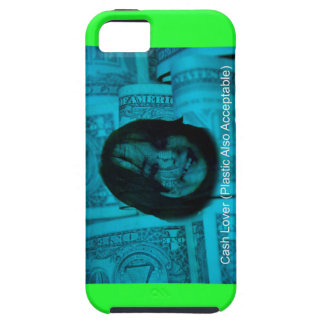 Cash Lover (Plastic Also Acceptable) Money Face Case For The iPhone 5
