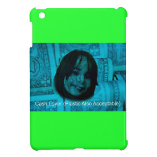 Cash Lover (Plastic Also Acceptable) Money Face iPad Mini Cases