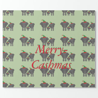 Cash-Mas Wrapping Paper