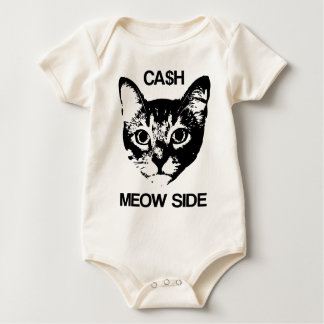 CASH MEOW SIDE BABY BODYSUIT