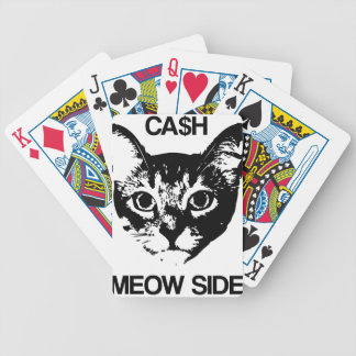 CASH MEOW SIDE BICYCLE PLAYING CARDS