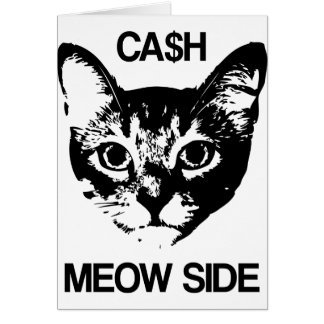 CASH MEOW SIDE CARD