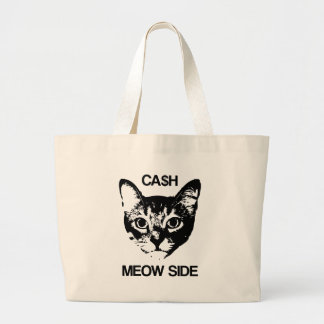 CASH MEOW SIDE LARGE TOTE BAG