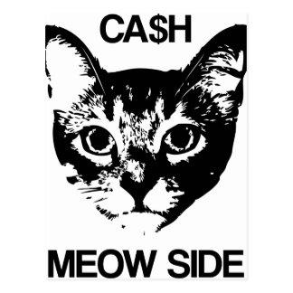 CASH MEOW SIDE POSTCARD
