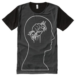 Cash on the Brain All-Over-Print T-Shirt