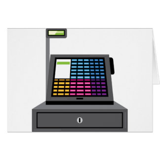 Cash Register Touch screen Card