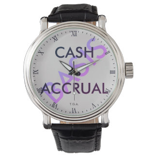"""CASH vs ACCRUAL Basis"" Watch"