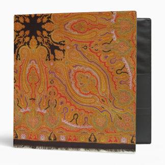 Cashmere scarf, c.1870-80 binder